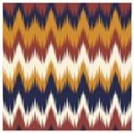 Tecido Quadrado Digital 49 X 49cm - Zigzag Colorido