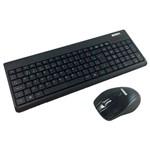 Teclado e Mouse K-mex Ka-0328 + Ma-p433 Wireless Usb