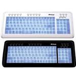 Teclado Multimídia USB Modelo 0501 Branco - Multilaser
