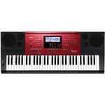 Teclado Musical Eletrônico Preto com Vermelho Ctk-6250 Casio
