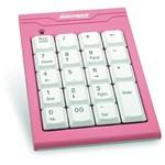 Teclado Numérico USB Rosa - Maxprint