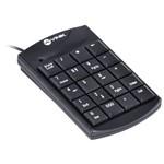 Teclado Numérico Vinik DT90 Dynamic 20 Teclas USB 1.5m Preto