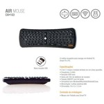 Teclado Oex Air Mouse P/ Smart Tv - Preto