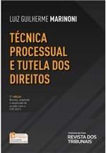 Técnica Processual e Tutela dos Direitos - 5ª Edição