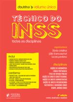 Técnico do INSS (Todas as Disciplinas) - Doutrina Volume Único (2019)
