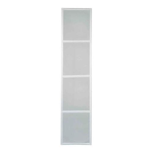 Tela Mosquiteira - Folha Porta Multiflex - Branco Pratika Direita 217x160x3,5cm - 29000018 - Sasazaki - Sasazaki