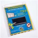 Tela Mosquiteiro Poliéster Victória 1,25X1,55 Preto com Velcro