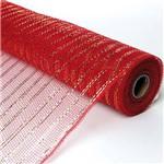 Tela Tecido P/ Decoração Natal 50x900 Cm Poliéster Vermelha