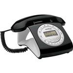 Telefone Identificador de Chamadas Viva Voz TC8312 Preto INTELBRAS.