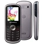 Telefone Motorola WX290 - Camera VGA MP3 Player Radio FM - Preto com Prata
