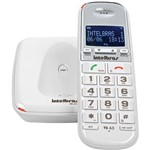 Telefone Sem Fio Digital Branco