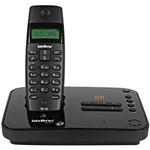 Telefone Sem Fio Intelbras com Secretária Eletrônica Preto TS40Se