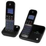 Telefone Sem Fio Motorola M4000ce-2 com Identificador de Chamadas - Preto