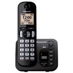 Telefone Sem Fio Panasonic Kx-TGC220LBB Preto, com Secretária Eletrônica , Dect 6.0 (1.9 GHz)