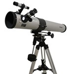 Telescópio Astronômico Equatorial Newtoniano 900mmx76mm Bluetek Bm-90076
