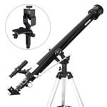 Telescópio Azimutal 900mm Greika + Adaptador de Câmera Fotográfica
