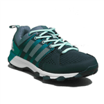 Tenis Adidas Galaxy Trail Azul/Verde Feminino 38