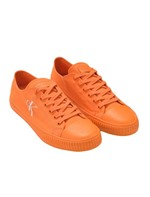 Tenis Ckj Masc Lona Re Issue Unicolor - Laranja - 39