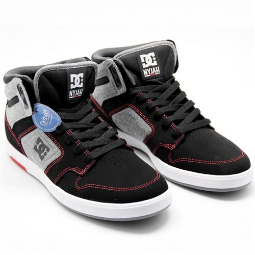 Tênis Dc Shoes Nyjah High Preto/cinza 38br