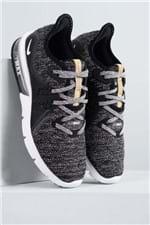 Tênis Feminino Nike Air Max Sequent 3 TEC - PRETO 37