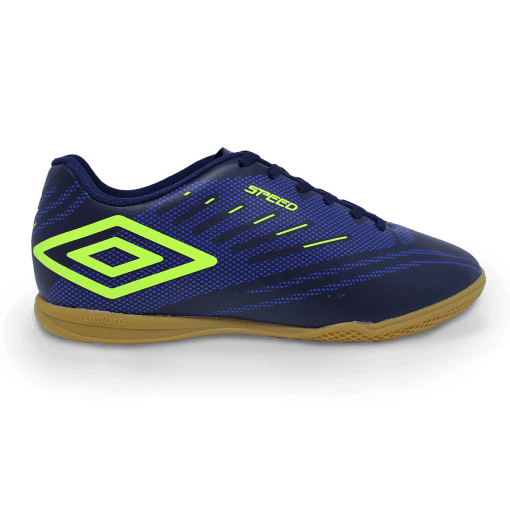 Tenis Futsal Umbro Of72112 Speed Iv Marinho/royal/limao OF72112