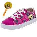 Tênis Infantil Feminino Minnie Pink Disney - DD0368