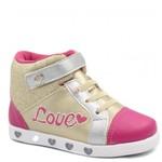 Tênis Infantil Pampili Sneaker Luz Led 165044   Betisa