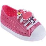 Tênis Infantil Pimpolho Colorê Flamingo Rosa