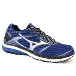Tenis Masculino Running Iron 2 N - Mizuno (02) - Azul/prata