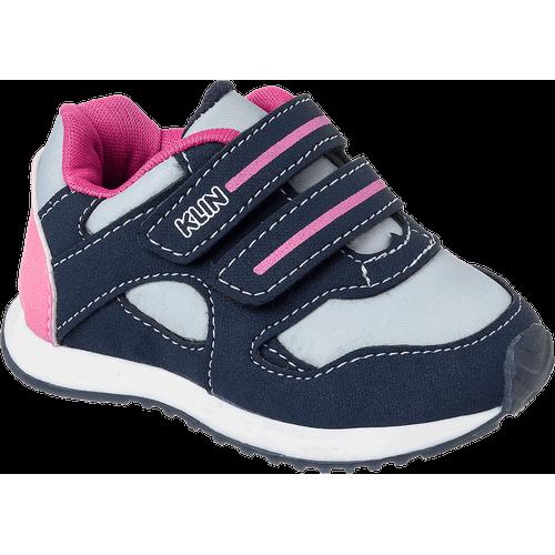 Tênis Mini Walk Marinho e Pink - 17