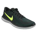 Tenis Nike Flex 2017 Rn Preto+limão 37