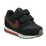 Tenis Nike Md Runner 2 Preto/Vermelho Baby 20