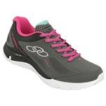 Tenis Run Olympikus Chumbo/Pink Spirit 218