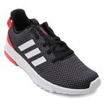 Tênis Running Adidas Masculino CF Racer TR B43638 Chumbo/Vermelho
