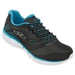 Tênis Running Olympikus Mist 2 Feminino Preto/Azul 35