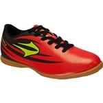 Tênis Topper Indoor Rapina III Vermelho/Neon/Preto
