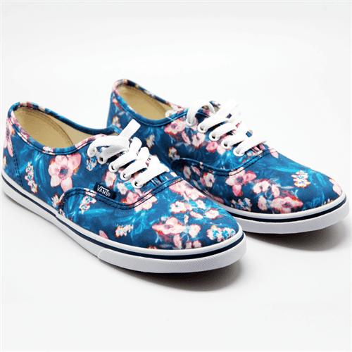 Tênis Vans Authentic Lo Pro Blurred Floral 35br