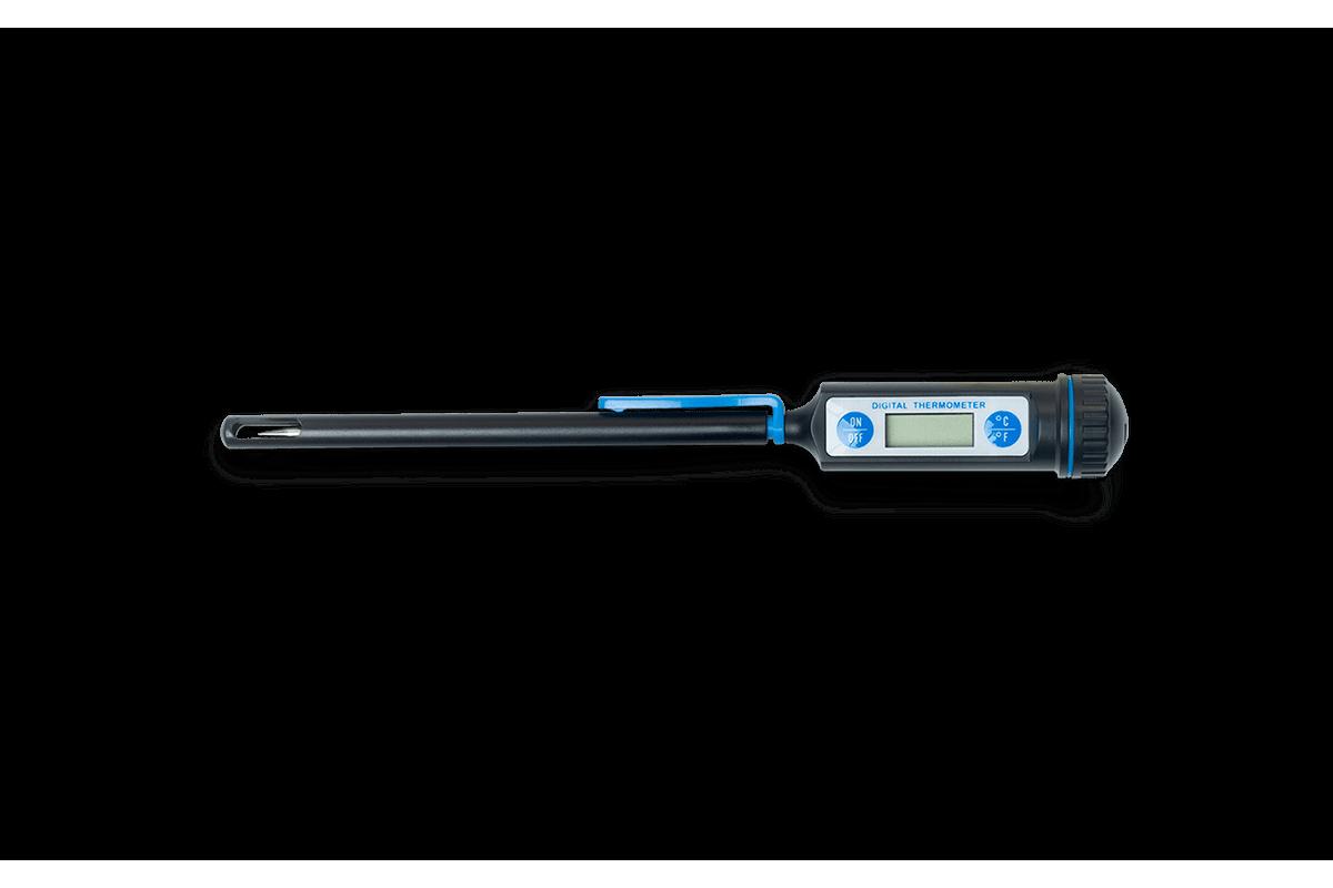 Termômetro Digital 21 Cm Glacê 21 Cm Preto Brinox