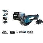 Tesoura P/ Grama a Bateria 12v Makita Um600dsae + Kit Carregamento