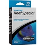 Teste de Iodo Fosfato e Silicato Seachem Multitest Reef Special