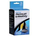 Teste de PH e Alcalinidade Seachem Multitest Marine PH e Alkalinity