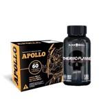 Thermo Flame120caps -black Skull + Apollo Queimador de Gordura!!