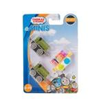 Thomas e Seus Amigos Minis Locomotivas Flynn Belle e Duck - Mattel