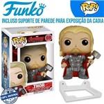 Thor Avengers Vingadores Funko Pop #69 + Suporte de Parede