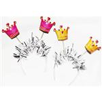 Tiara Princesa - 10 Unidades