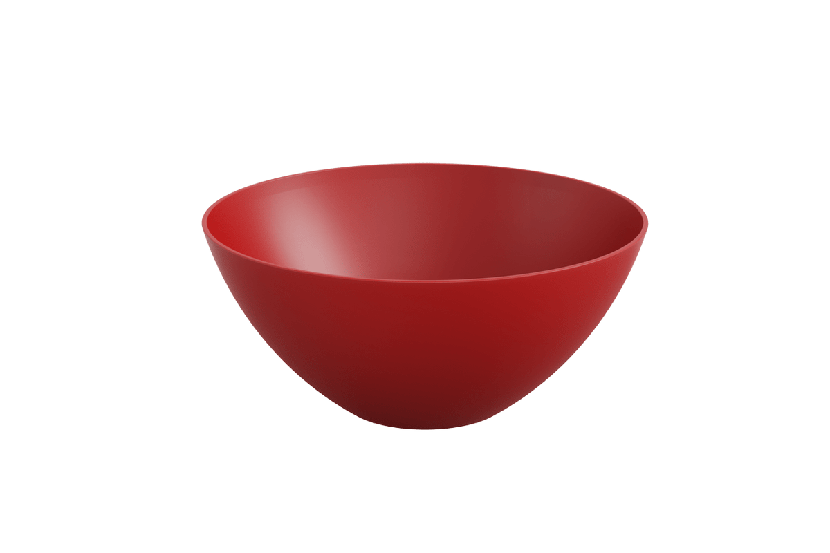Tigela 3,5L Essential 27,7 X 27,7 X 12,2 Cm 3,5 L Vermelho Bold Coza
