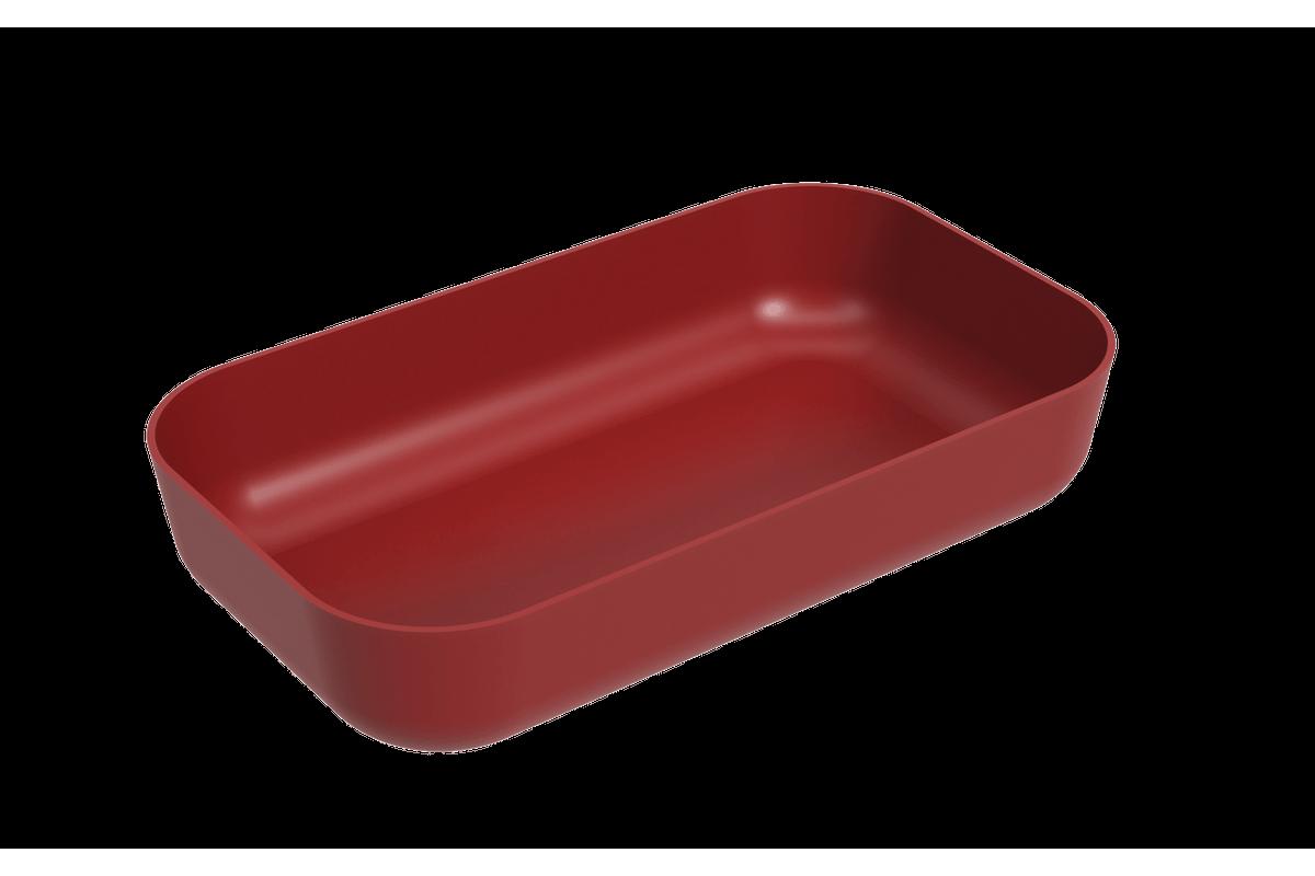Tigela Retangular 2,8 L Essential 32,3 X 19 X 6,5 Cm 2,8 L Vermelho Bold Coza