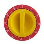 Timer Vermelho e Amarelo 7CM - 32435
