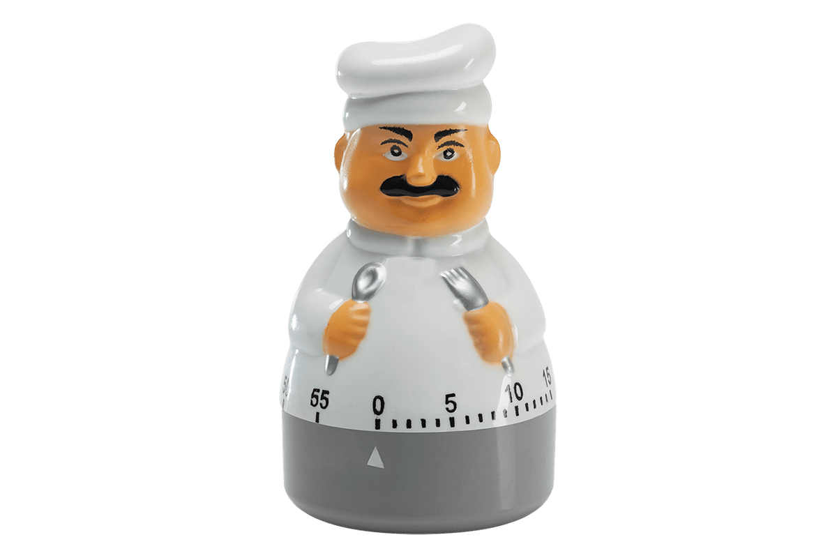 Timmer para Cozinha - Cheff Descomplica 10 X 5,8 X 5,8 Cm Cinza Brinox