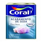 Tinta Acetinada Acab. de Seda Bco Gelo 18 Lts